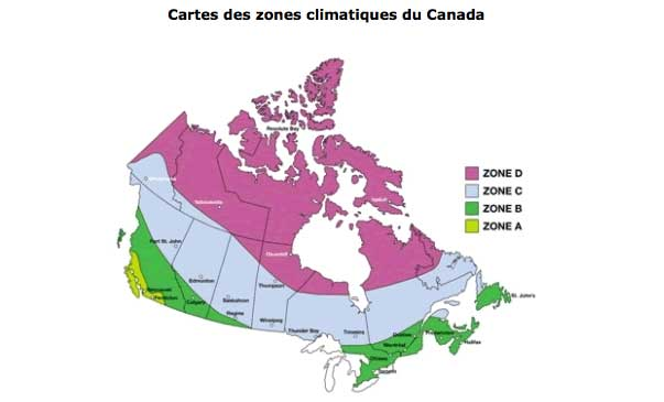 Zones climatiques appliqu es aux portes et fen tres energy for Fenetre energy star quebec